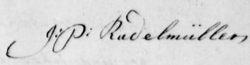 Radelmüller's Signature