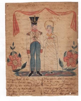 41st Ft 1823 illust letter Madras Chris Bryant coll Scan 102