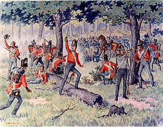 'Battle of Monguagon' by J.C.H. Forster (Windsor Public Library).jpg