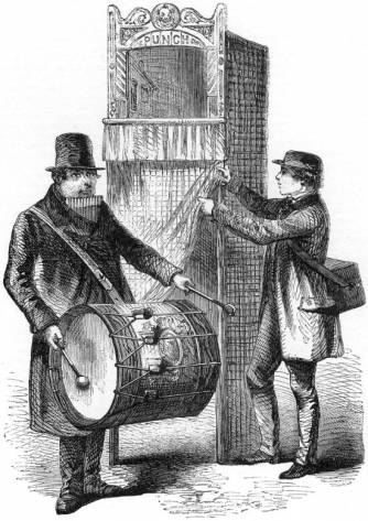 Punch's Showmen, from Mayhew's London Labour and the London Poor (1861)